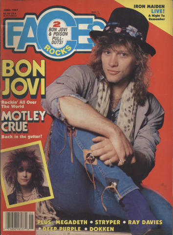 Rocks Faces Magazine June 1987