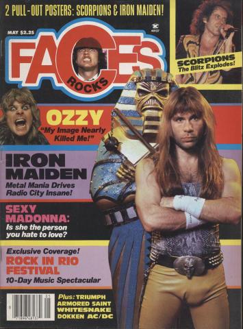 Rocks Faces Magazine May 1985