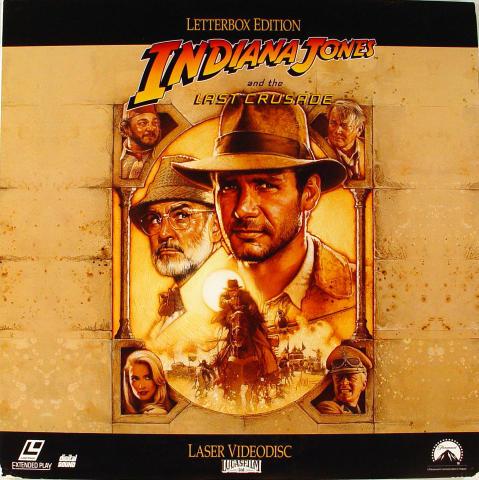 Indiana Jones and the Last Crusade Laserdisc