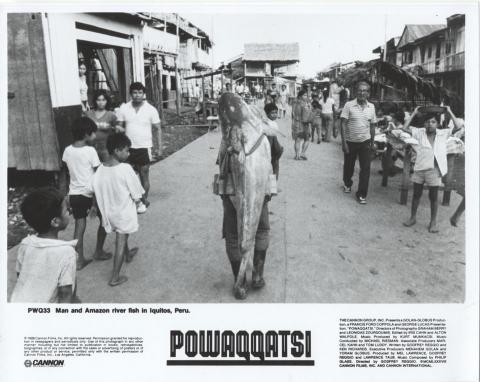 Powaqqatsi Promo Print