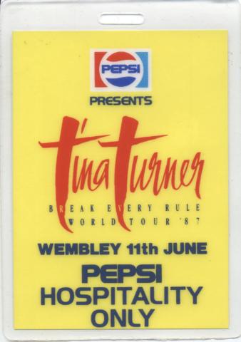 Tina Turner Laminate