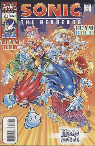 Sonic The Hedgehog No. 132