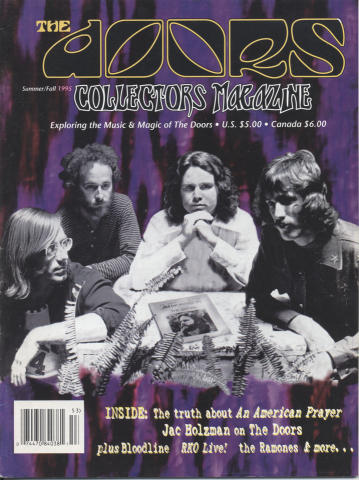 The Doors Magazine Summer Fall 1995
