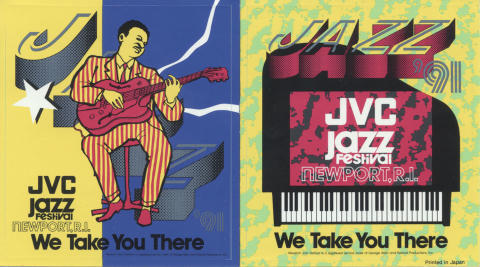 JVC Jazz Festival Sticker