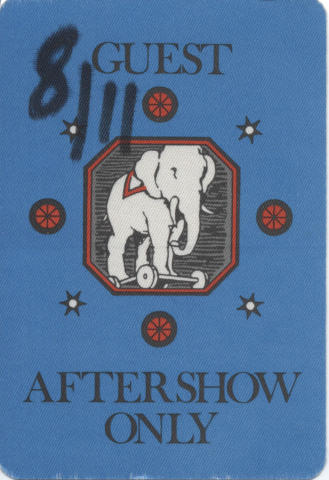 Aftershow Backstage Pass