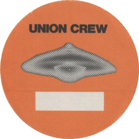 Union Crew Backstage Pass