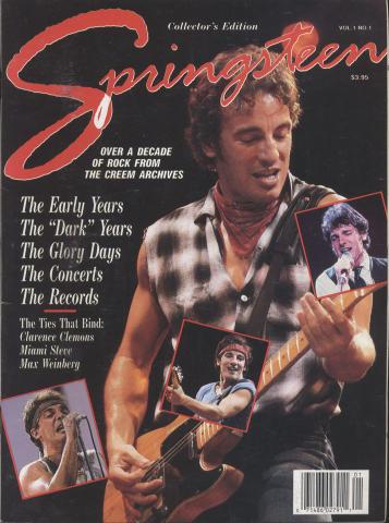 Springsteen Collector's Edition Vol. 1 No. 1