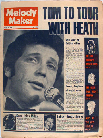 Melody Maker Magazine August 24, 1968