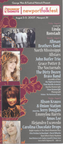 Newport Folk Festival Postcard