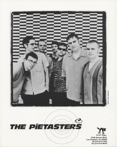 The Pietasters Promo Print