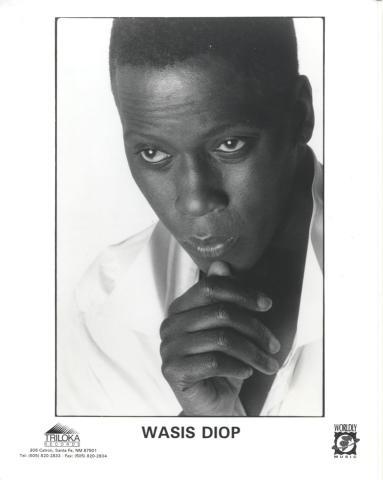 Wasis Diop Promo Print