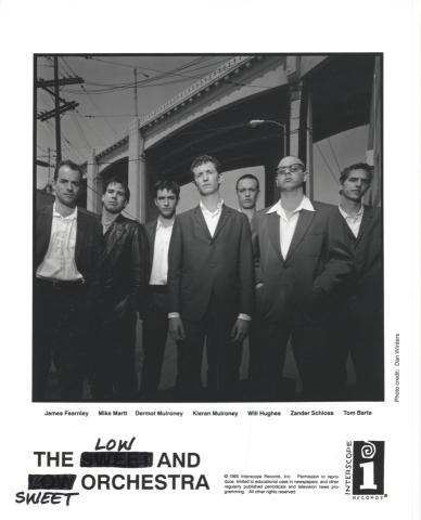 The Low and Sweet Orchestra Promo Print