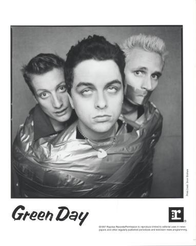 Green Day Promo Print