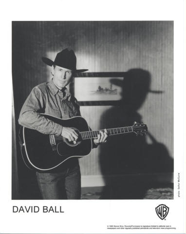 David Ball Promo Print