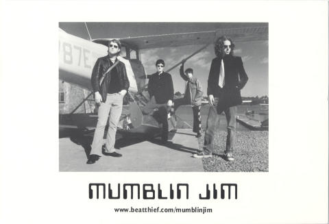 Mumblin' Jim Promo Print
