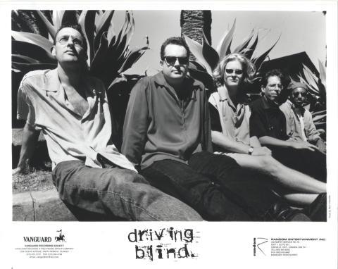 Driving Blind Promo Print