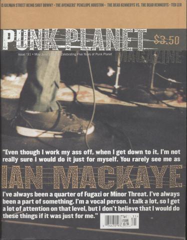 Punk Planet No. 31