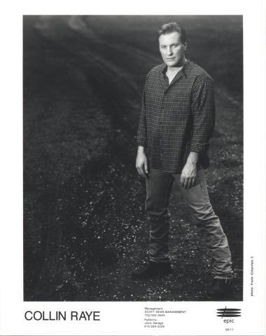 Collin Raye Promo Print
