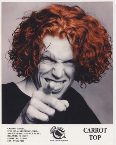 Carrot Top Promo Print