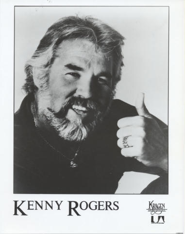Kenny Rogers Promo Print
