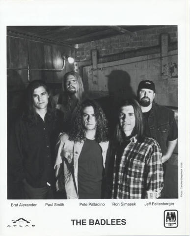 The Badlees Promo Print