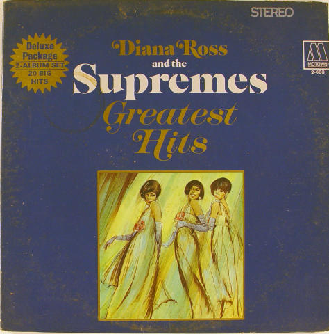 """Diana Ross & The Supremes Vinyl 12"""""""