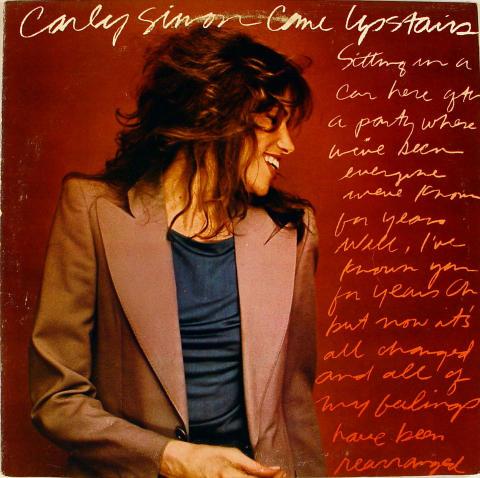 "Carly Simon Vinyl 12"""