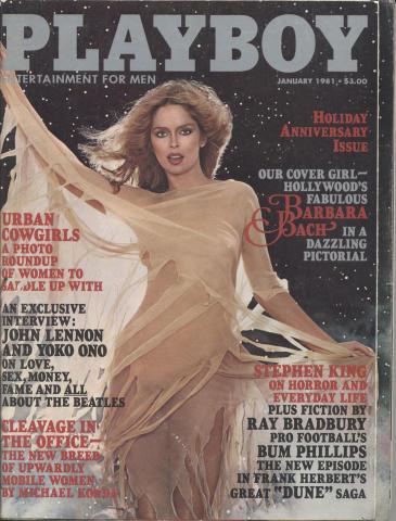 Playboy Magazine January 1981