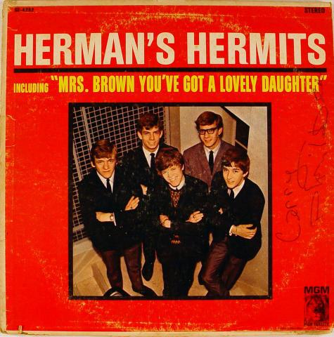 "Herman's Hermits Vinyl 12"""