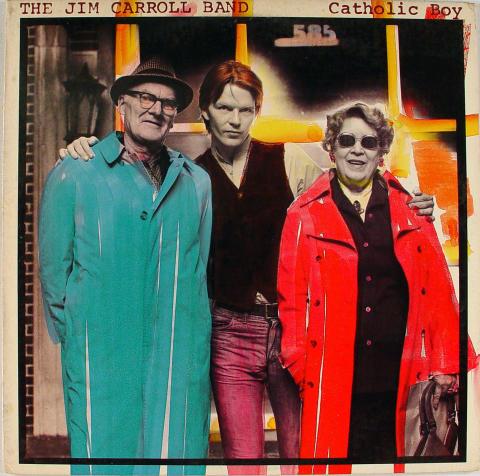 "The Jim Carroll Band Vinyl 12"""