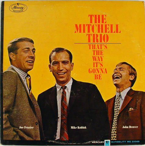 """The Mitchell Trio Vinyl 12"""" (Used)"""