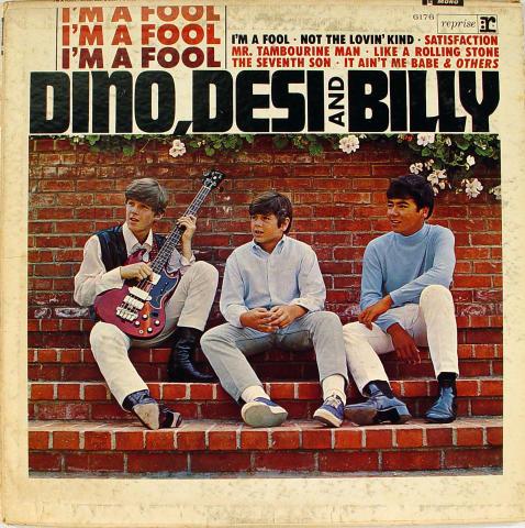 "Dino, Desi and Billy Vinyl 12"""