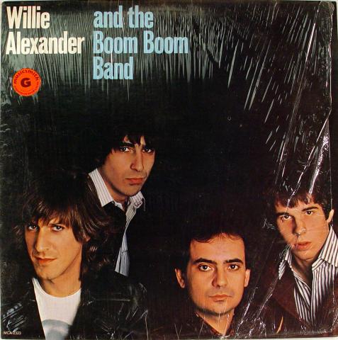 "Willie Alexander & the Boom Boom Band Vinyl 12"""
