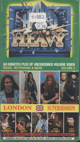 Hard 'n Heavy VHS
