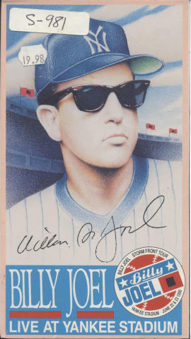 Live at Yankee Stadium VHS