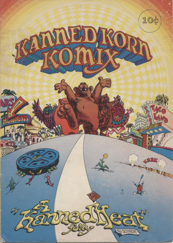 Kanned Korn Komix Comic Book