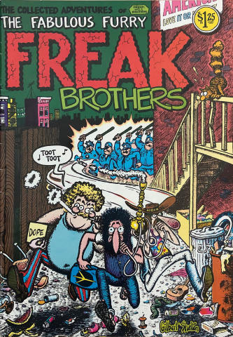 Rip Off Press: The Fabulous Furry Freak Brothers No. 1