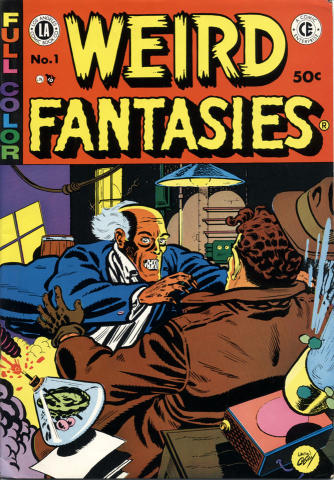 A Comic Enterprise: Weird Fantasies #1
