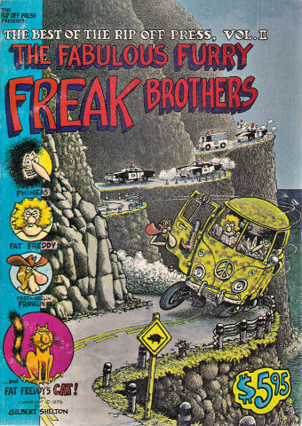 The Best Of The Rip Off Press Vol. 2 The Fabulous Furry Freak Brothers