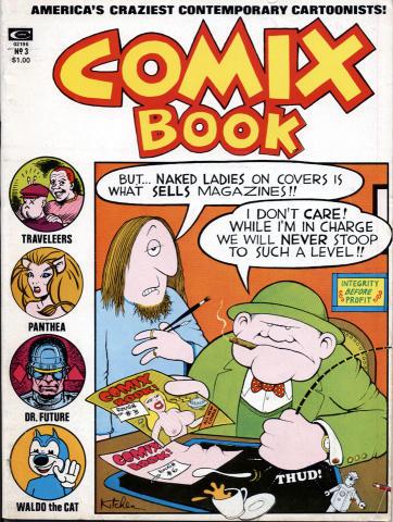 Marvel: Comix Book #3