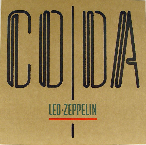 Led Zeppelin Album Flat