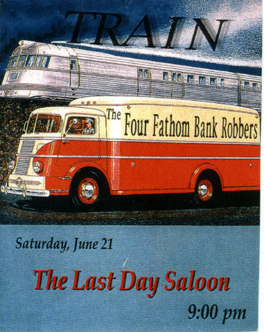 The Four Fathom Bank Robbers Handbill