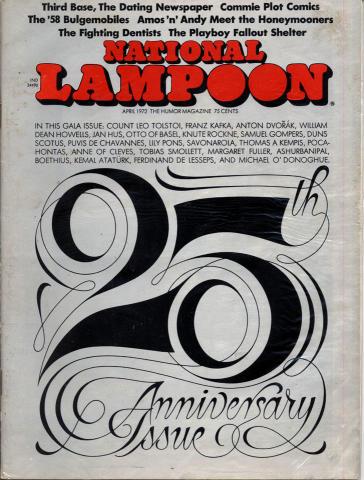National Lampoon Vol. 1 No. 25