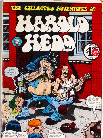 Last Gasp: The Collected Adventures of Harold Hedd No. 1