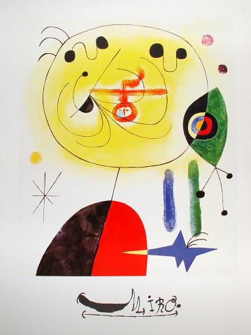 Juan Miro Poster