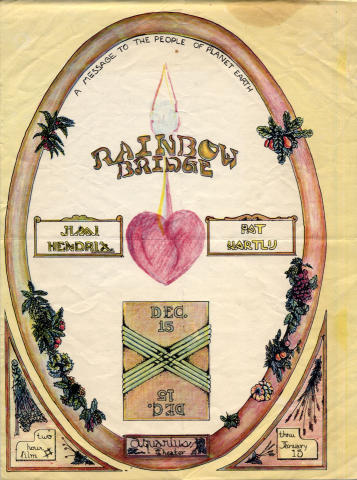 Rainbow Bridge Handbill