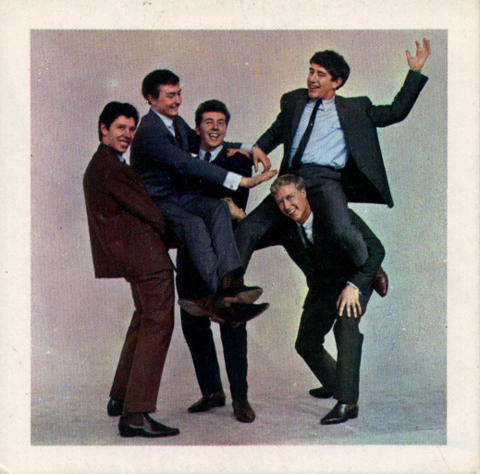 Brian Poole and the Tremeloes Handbill