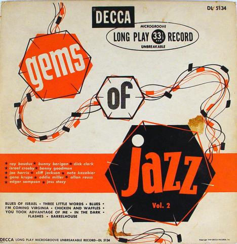 "Gems Of Jazz Vol. 2 Vinyl 10"" (Used)"