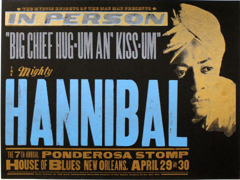 The Mighty Hannibal Poster