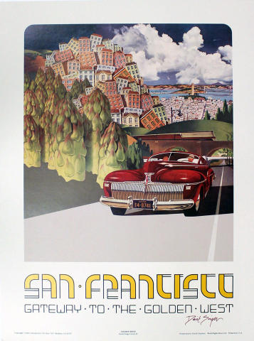 San Francisco: Gateway to the Golden West Poster